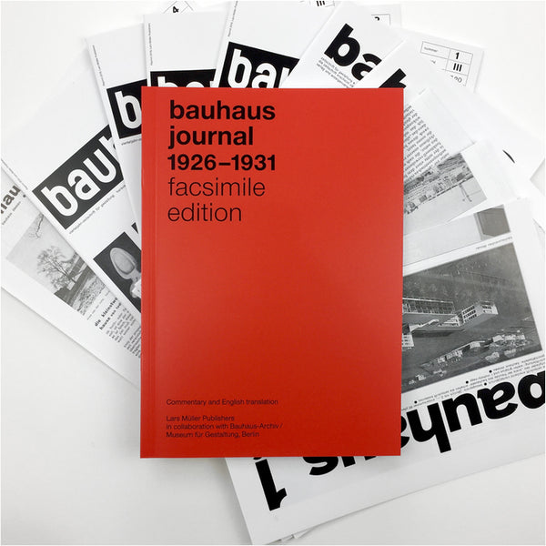 bauhaus journal: 1926–1931 facsimile edition