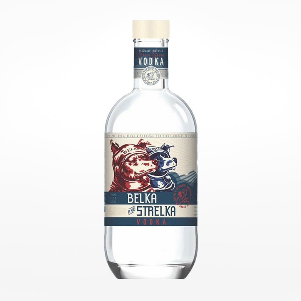 Belka And Strelka Vodka