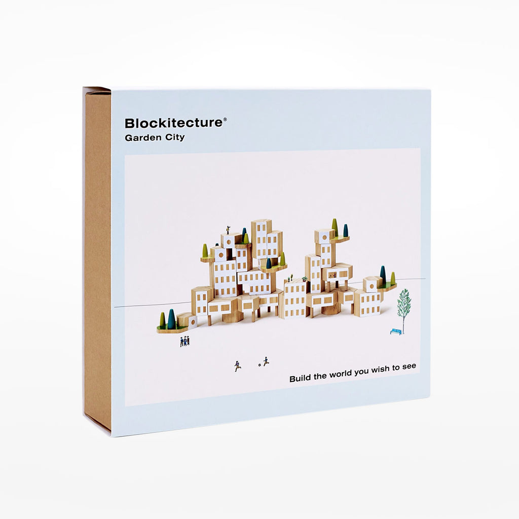 Blockitecture Garden City building blocks