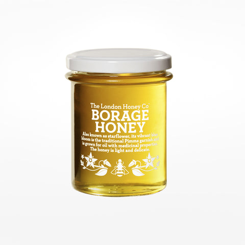 Borage honey jar