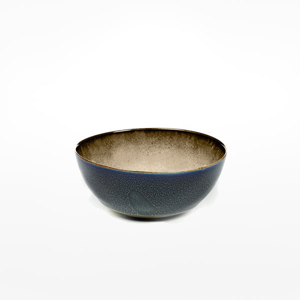 Anita Le Grelle Small Bowl - Misty Grey/Dark Blue