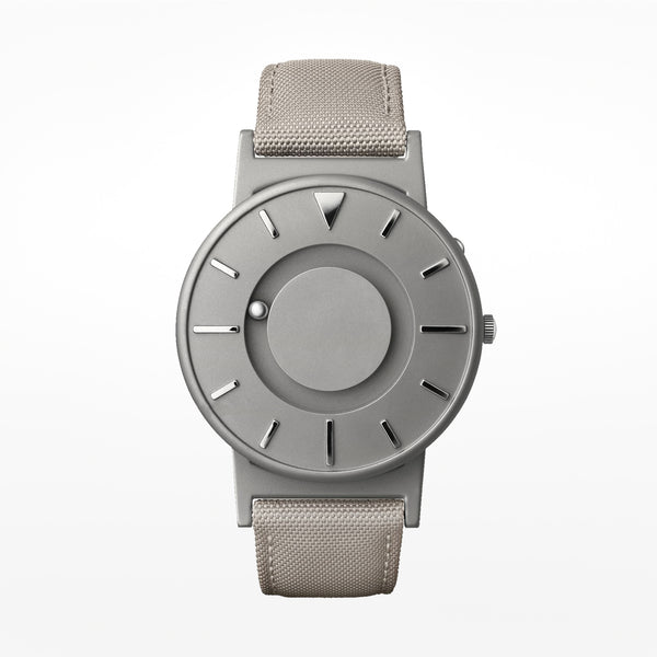 Bradley canvas wristwatch biege