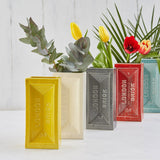 Glazed London Brick vases