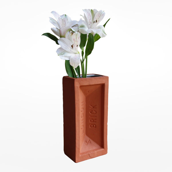 London Brick Vase - Terracotta