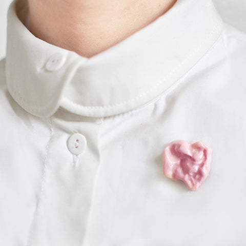 Chewing Gum pin badge