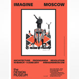 Imagine Moscow Exhibition Poster