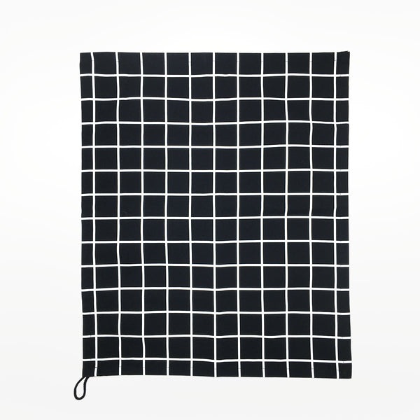 Grid Pattern Tea Towel