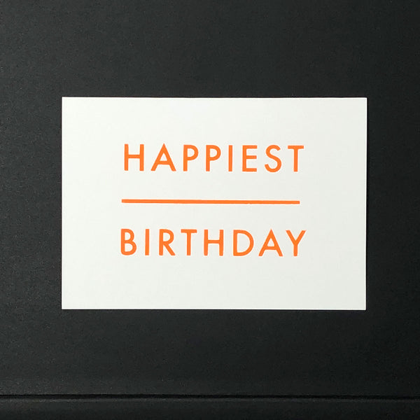 HAPPIEST BIRTHDAY Greetings Card