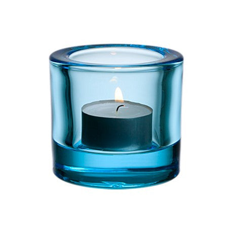 Kivi Votive Light Blue