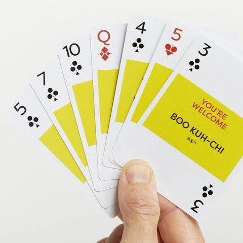 Mandarin Lingo Playing Cards