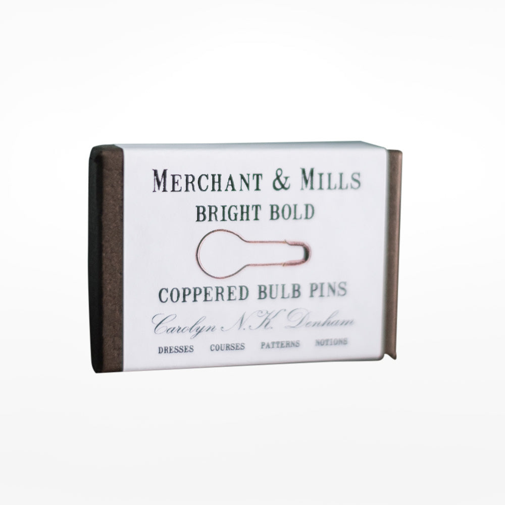 Coppered Bulb Pins