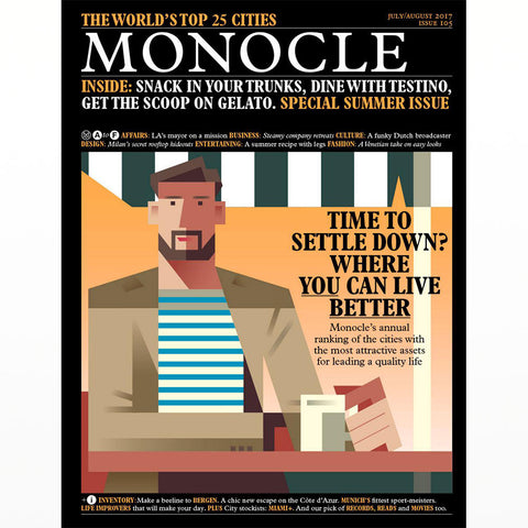 Monocle Magazine July/August 2017 issue 105