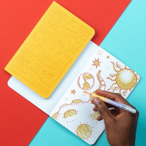 Trio of Journals - Kate Moross x MOO