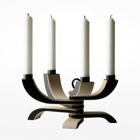 Nordic light candle holder - 4 arm