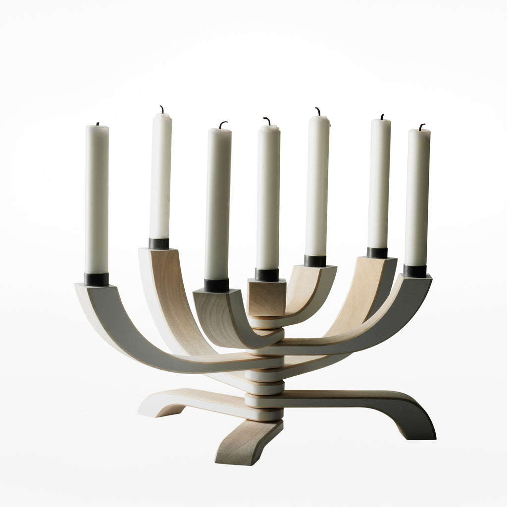 Nordic light candle holder - 7 arm
