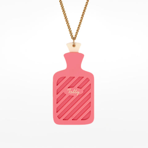 Hot Water Bottle Necklace