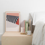 Tom Pigeon 'Plane' Series Print - Blush