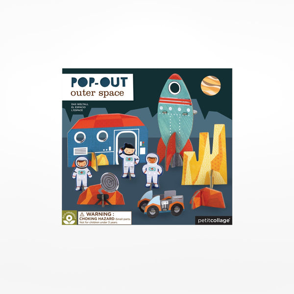 Outer Space Pop-Out