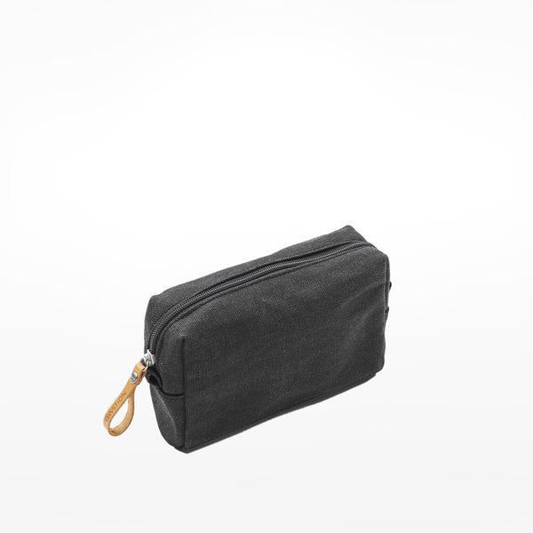 Qwstion Amenity Pouch - Washed Black