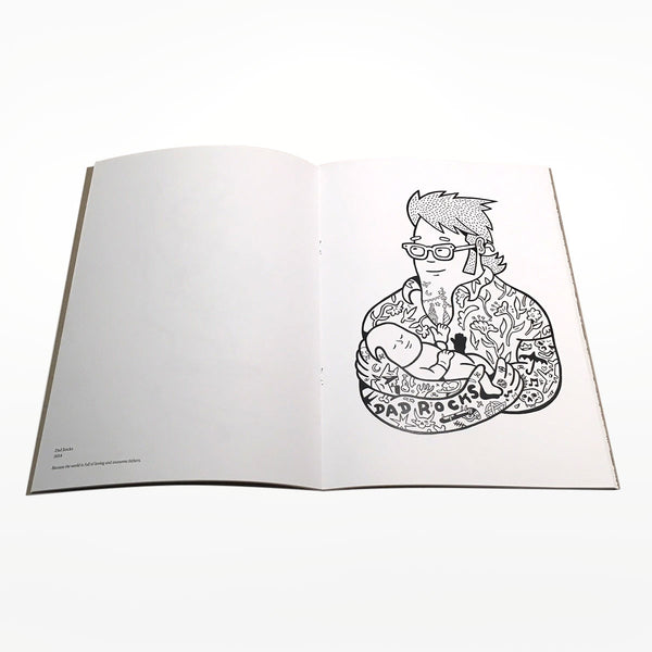 Scrap Paper Colouring Book