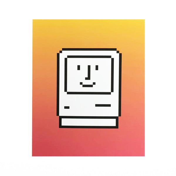 Smiling Macintosh print - limited edition