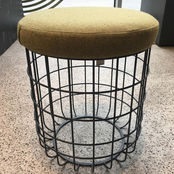 Wire stool - graphite