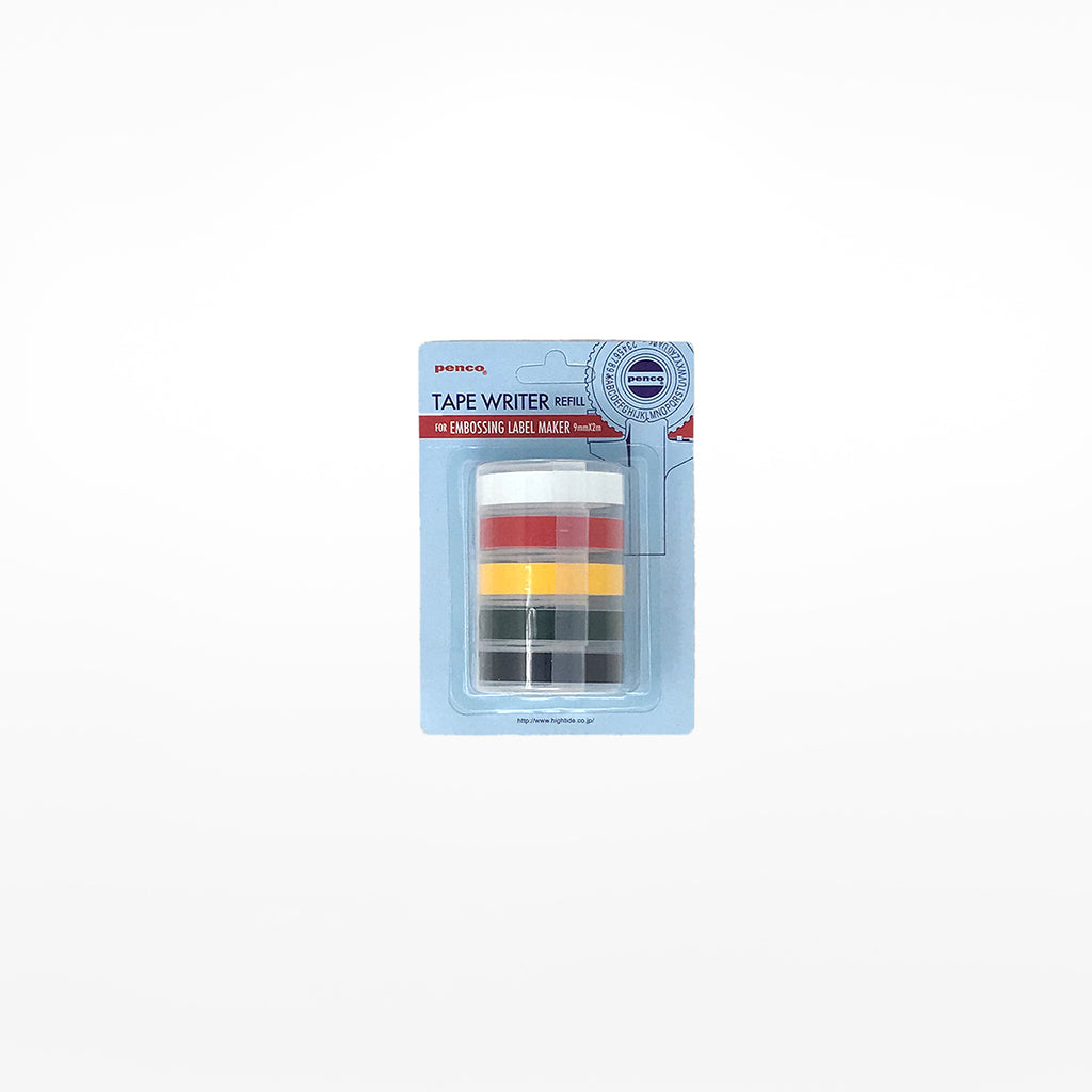 Embossed Label Maker Refill Tape