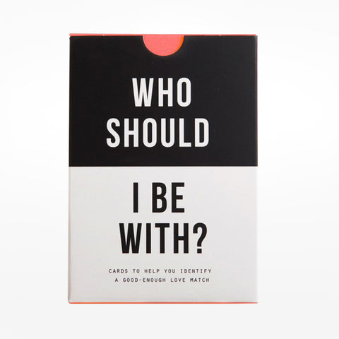 The school of life: Who should I be with?