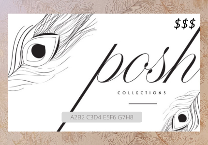 Posh Collection Online Gift Card