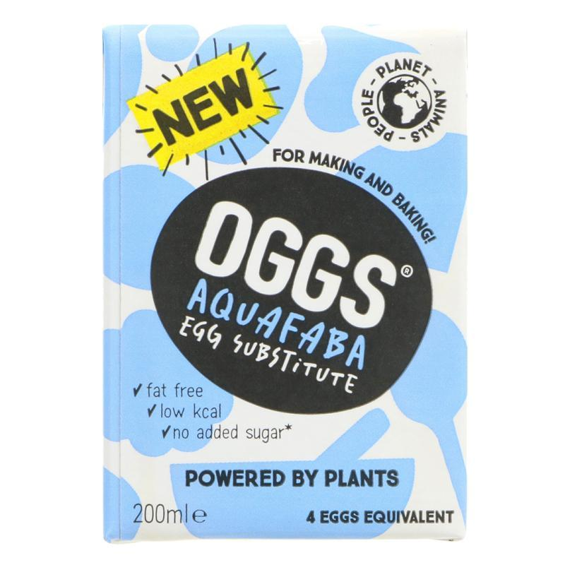 Aquafaba Egg Alternative (200ml) Oggs