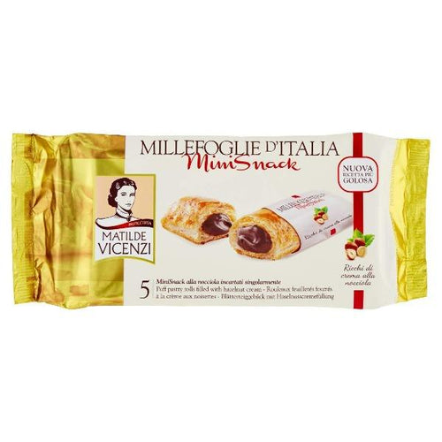 Millefoglie Chocolate Mini Snack (125g) - La Vita Pazza