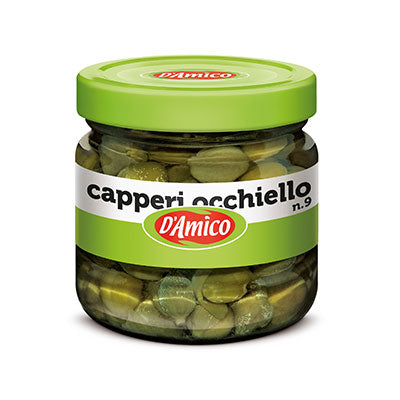 D'Amico Capers In Vinegar (100g)
