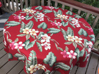 "60"" Red Panini Round Tablecloth"