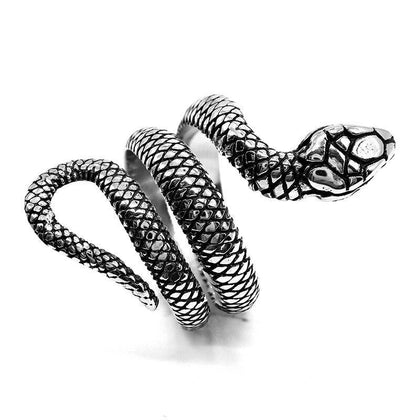 Snake ring stainless steel collection