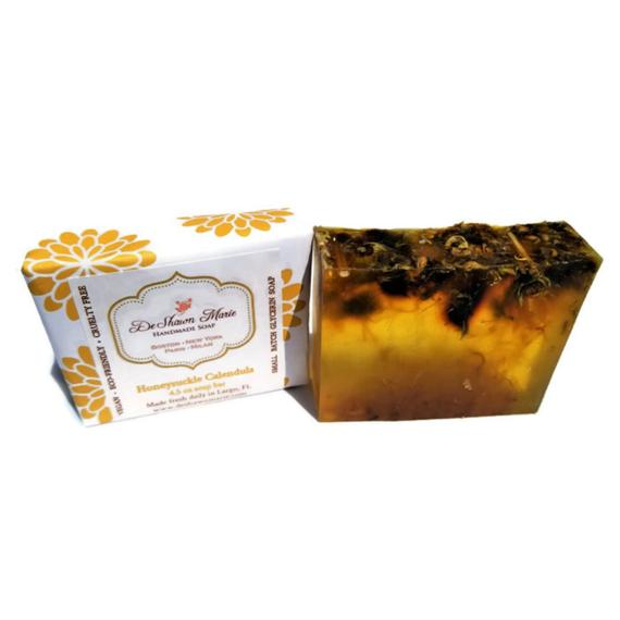 Honeysuckle Calendula Soap - Elevate - Skincare/Beauty