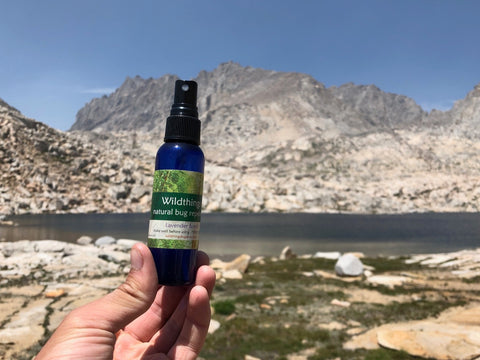 Wildthings bugspray in Sequoia-Kings Canyon national park California, Wildthings natural bugspray, catnip insect repellent, catnip bugspray, best natural bugspray, best natural insect repellent