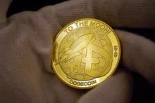 Load image into Gallery viewer, Gold Plated ($DOGE) Coin (Tradable at Stock Price)(COLLECTORS ITEM!)