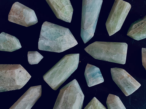 Crystals to focus at work