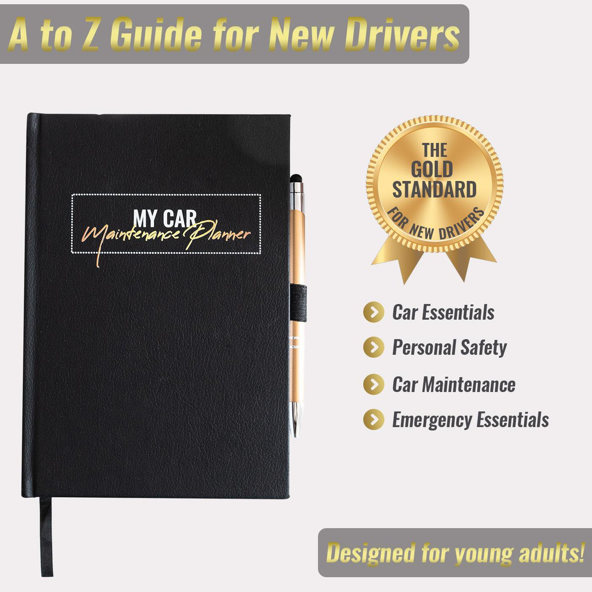 New Drivers Guide Maintenance Planner - Gold