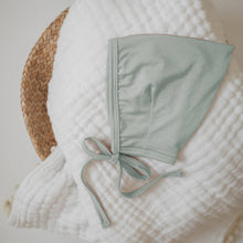 Load image into Gallery viewer, Tenth & Pine Bamboo Pixie Bonnet Baby Hat