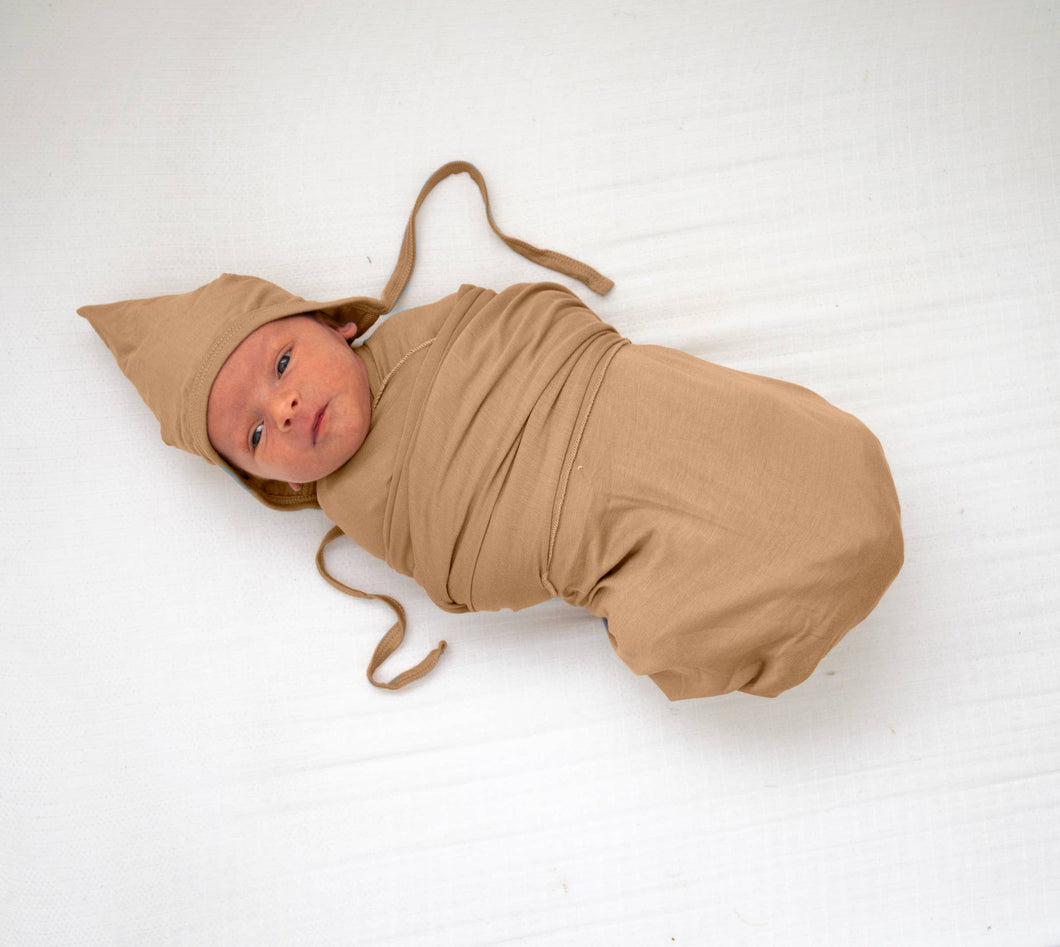 Tenth & Pine Organic Bamboo Viscose Swaddle Blanket
