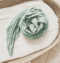 Load image into Gallery viewer, Tenth & Pine Organic Bamboo Viscose Swaddle Blanket