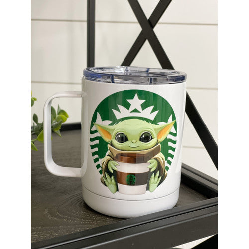 Yoda Starbucks 11oz Travel Mug