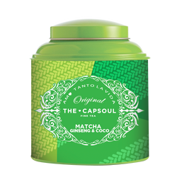 Té Matcha Ginseng y Coco - The Capsoul