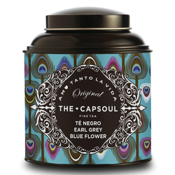 Té Negro Earl Grey Blue Flower - The Capsoul