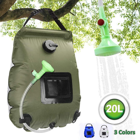 Outdoor Camping Water Showering Bags 20L