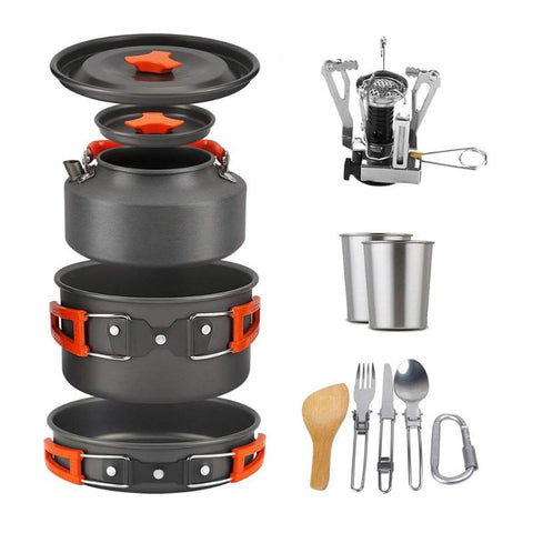 Outdoor Camping Non-Stick Cook Ware Set