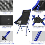 Portable Outdoor Camping Ultralight Folding Chair