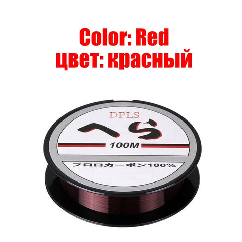 100m Mainline/Tippet Monofilament Nylon Fishing Line