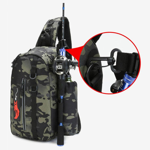 One Shoulder Fishing Bag